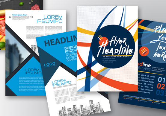 Дизайн и печать листовок